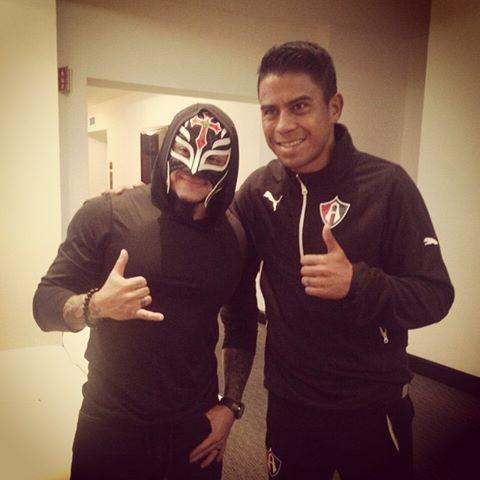 Rey Mysterio y Juan Carlos Medina